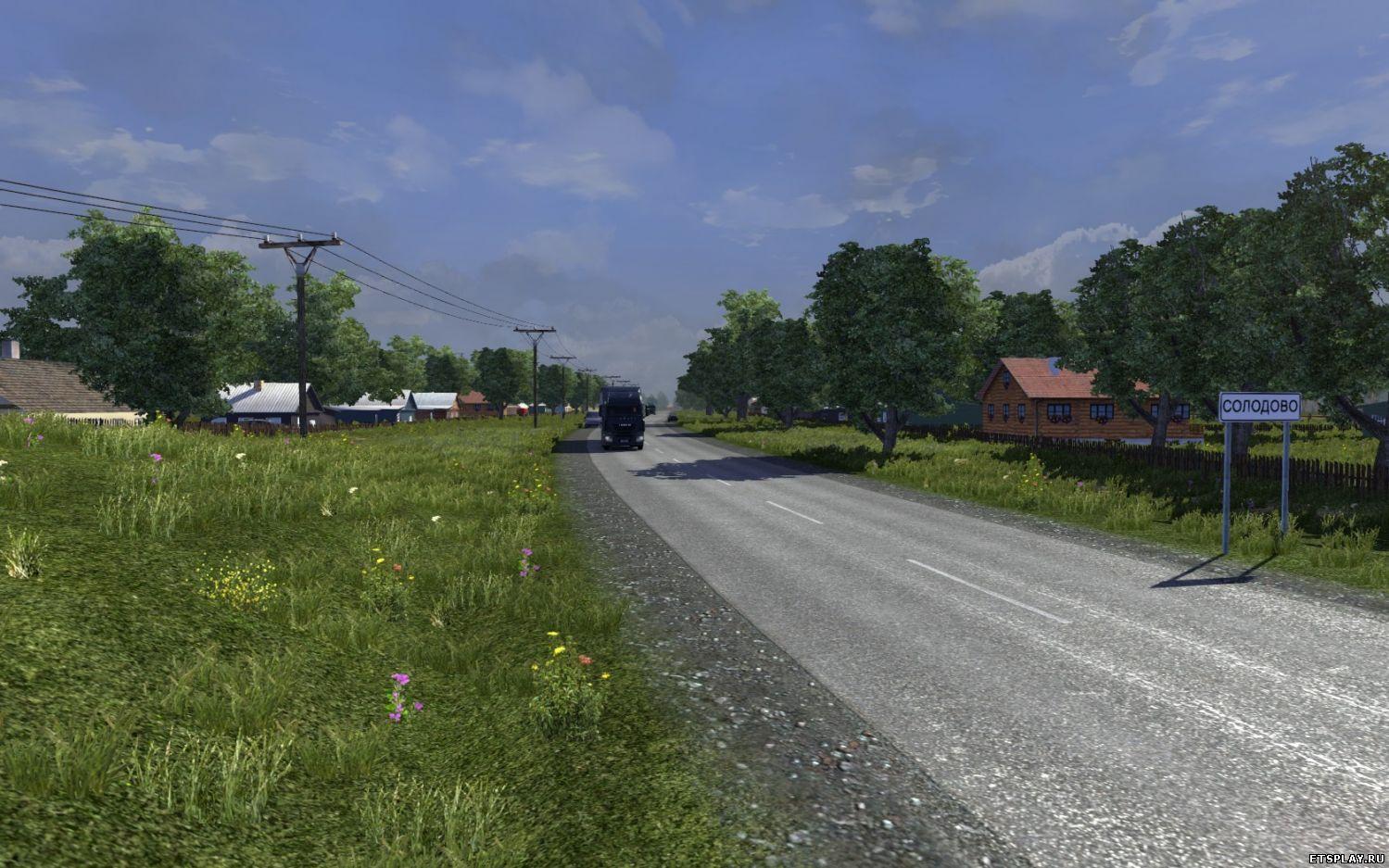 Евро Трек Симулятор 2 картинки скачать